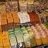 Different flavored pastas, Rome, Campo dei Fiori