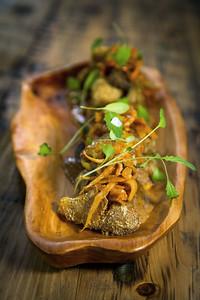 Crushed Potatoes at Mollusk Seattle