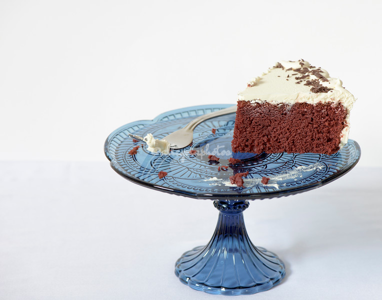 The last piece of cake standing
