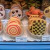 Cookies in a Paris bakery window