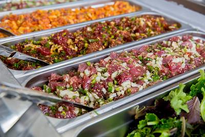 Fresh Hawaiian Ahi Tuna and Salmon Poke