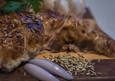 Fennel-salted chicken