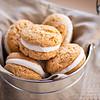 A Bucket of Peanut Butter Sandwich Cookies