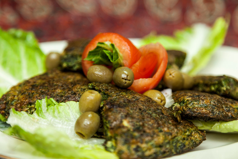 Persian herbed quiche (omelette)