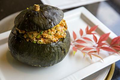 Pumpkin Fried Rice at Ginza, Bellevue