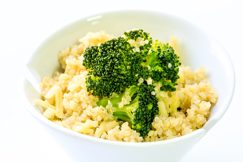 Home Made Quinoa Broccoli Salad