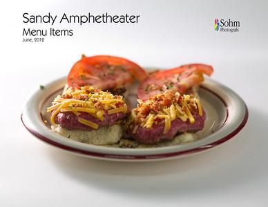 Sandy Amphitheater New Menu Items