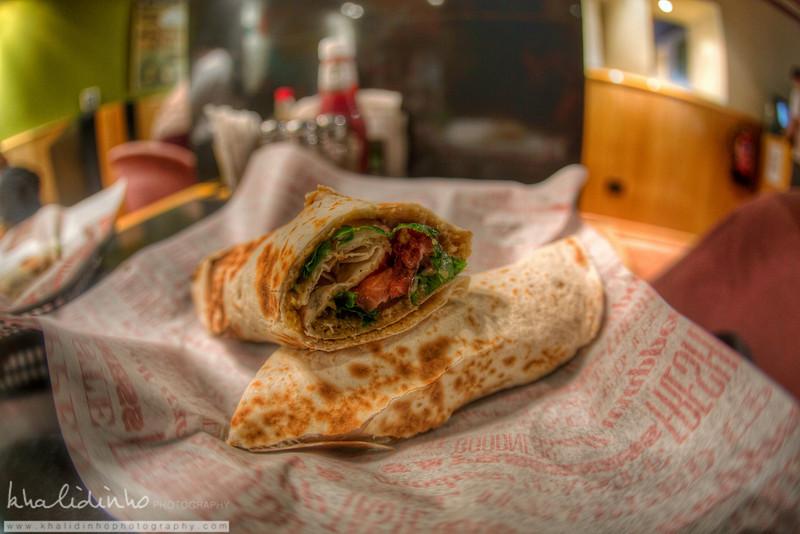 Falafel Sandwich - Zait W Zatar