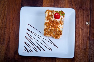 Yummy dessert post a good meal