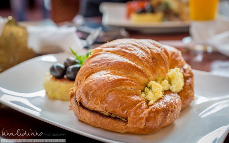 Croissant - Cafe Lilou