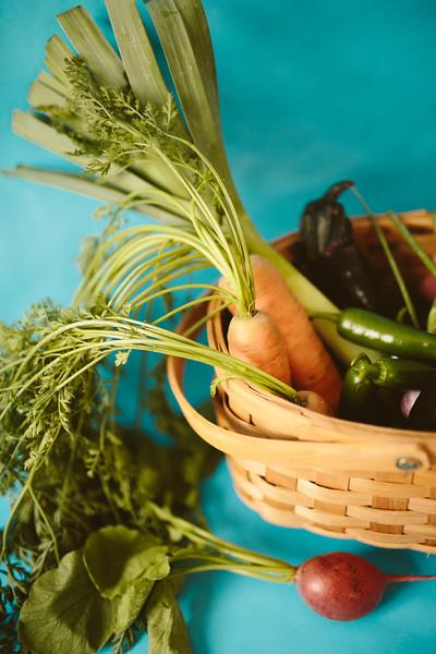 organic garden vegetables