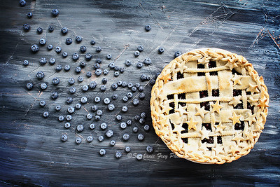 Blueberry Pie and Berries