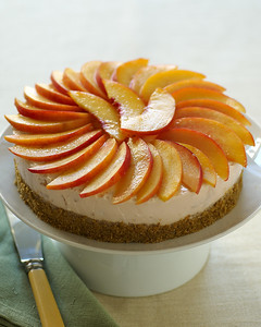 July 2006 - Light Creamy Peach Dessert