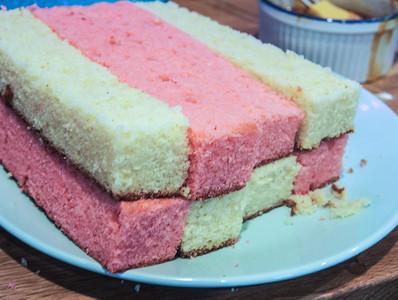 Battenburg Cake Sponge
