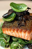 Sautéed Salmon with Brussel Sprouts