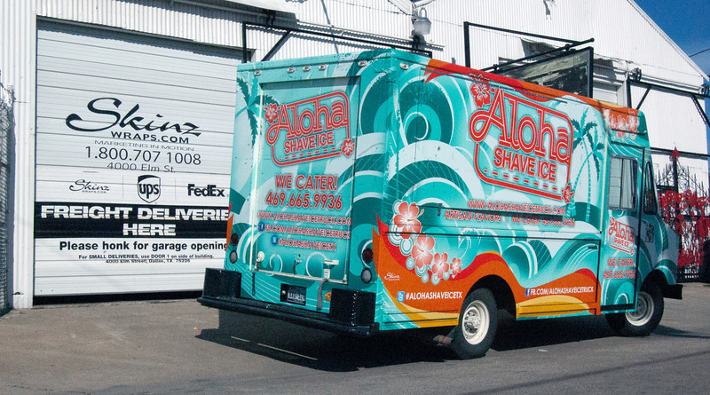 Shaved Ice Truck