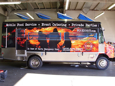 Fire Dog, Food Truck, Dallas, TX