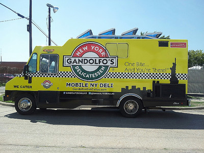 Food Truck Wrap for Gandolfo's of Dallas