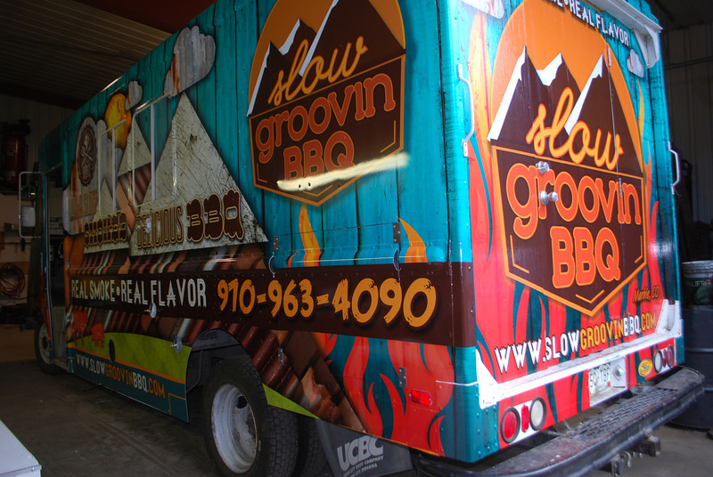 Slow Groovin' BBQ, 22' Food Truck, Marble, CO