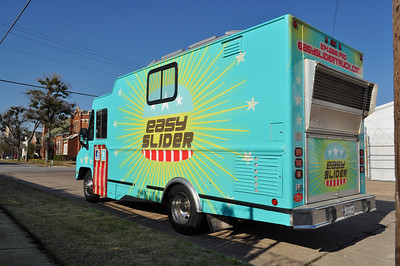 Easy Slider Food Truck Wrap