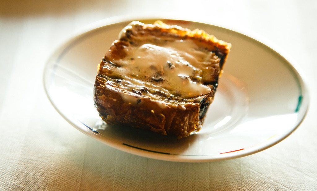 Toasted Mushroom Brioche with Black Truffle Butter