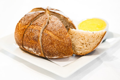 Honey and Spelt bread with house made butter