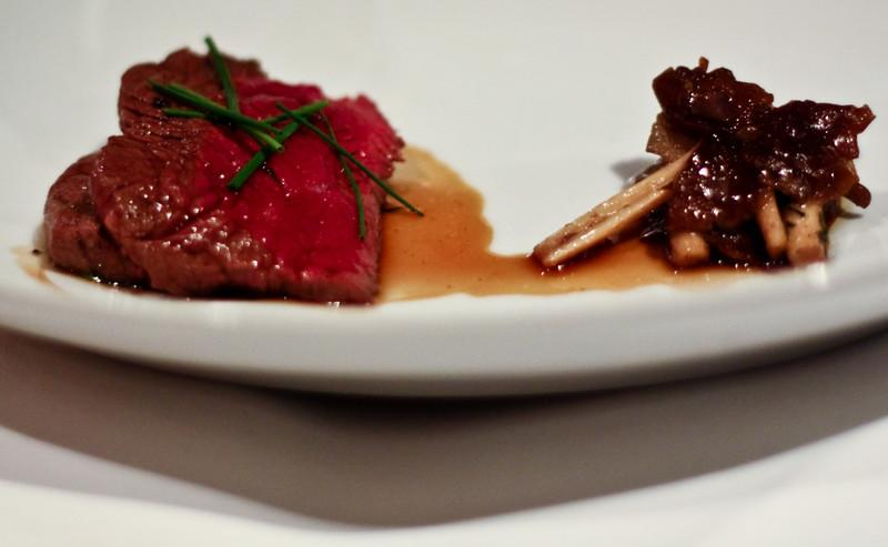 Grass Fed Angus Beef Fillet with Blewitt and Chestnut Mushrooms