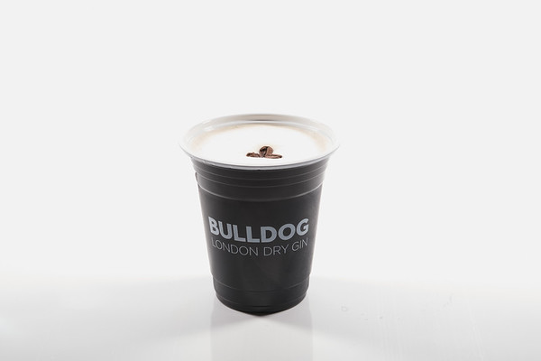 Bulldog - plastic cup