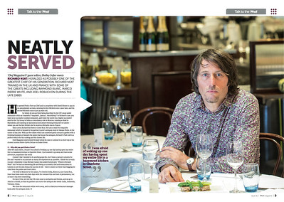 Richard Neat - Chef Magazine Sept 2013