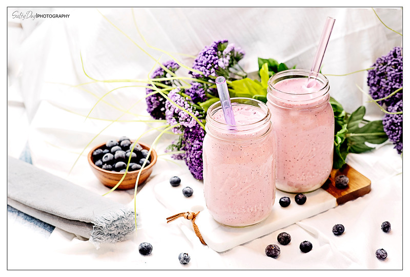 Blustery Blueberry Protein Shake