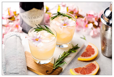 Grapefruit Gin & Tonic with Rosemary
