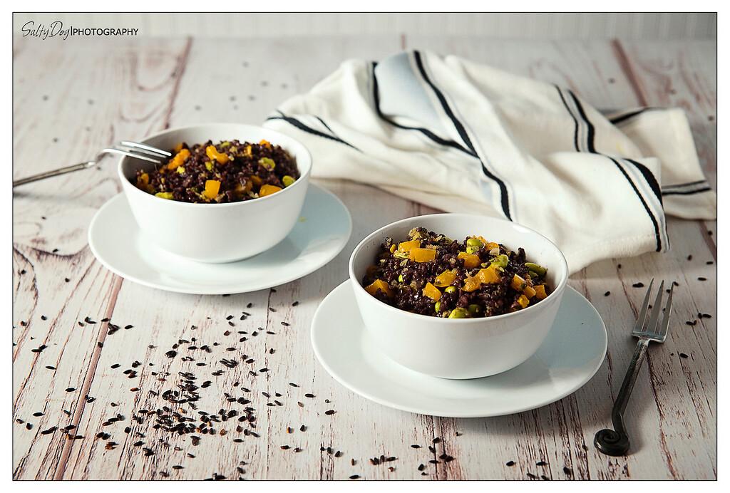 Black Rice Edamame Lunch Bowl