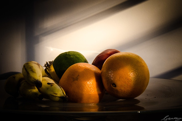 Fruit and light