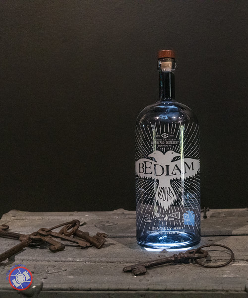 Bedlam Vodka Bottle (©simon@myeclecticimages.com)
