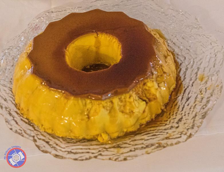 The Finale a Delicate but Rich Crème Caramel (©simon@myeclecticimages.com)