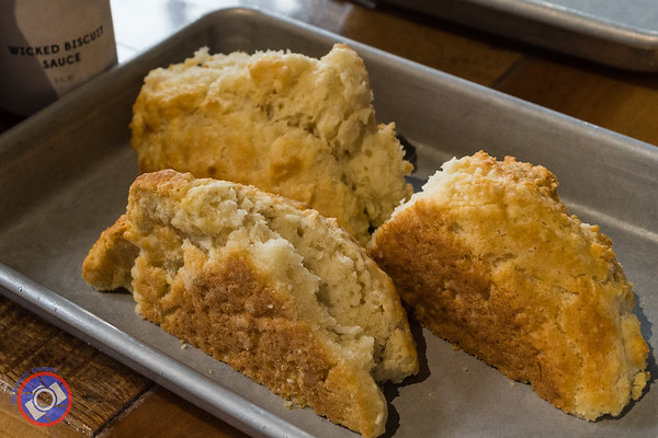Fluffy Biscuits Served at Biscuit Head - the Second Stop on the Greenville Breakfast tour (©simon@myeclecticimages.com)