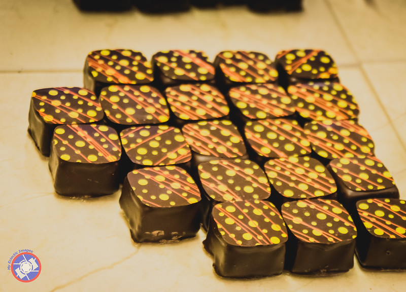 Ganache-Filled Chocolates from Claude's Chocolate (©simon@myeclecticimages.com)