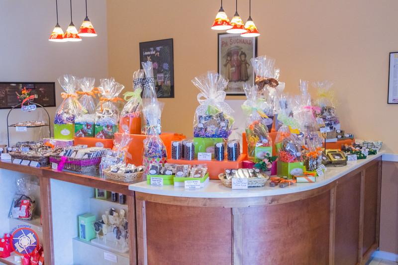 Display of Gift Items Available from Claude's Chocolate (©simon@myeclecticimages.com)