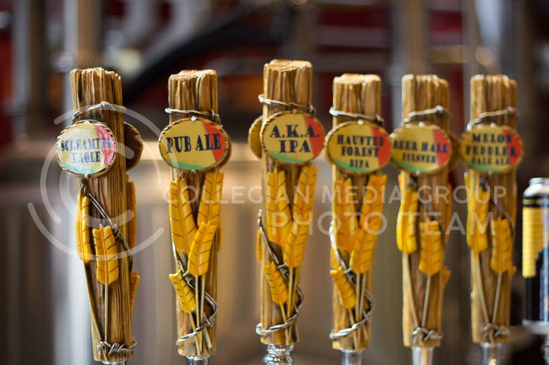 Taphouse mirco brewery has six in house beers on tap all of which are made here in Manhattan Ks. 14 Sept 2017 (Alex Shaw | Collegian Media Group)
