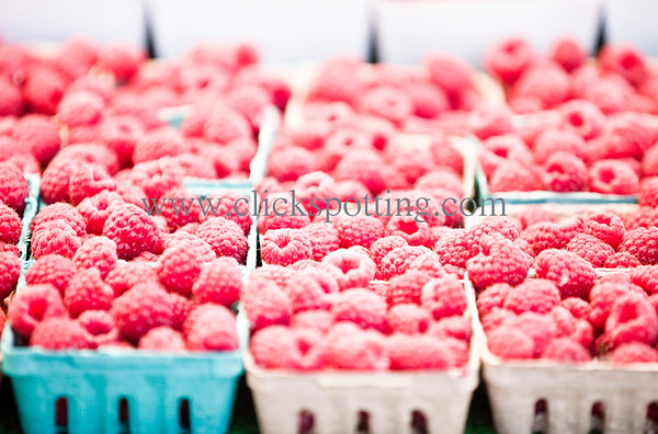 Raspberries Farmers Market