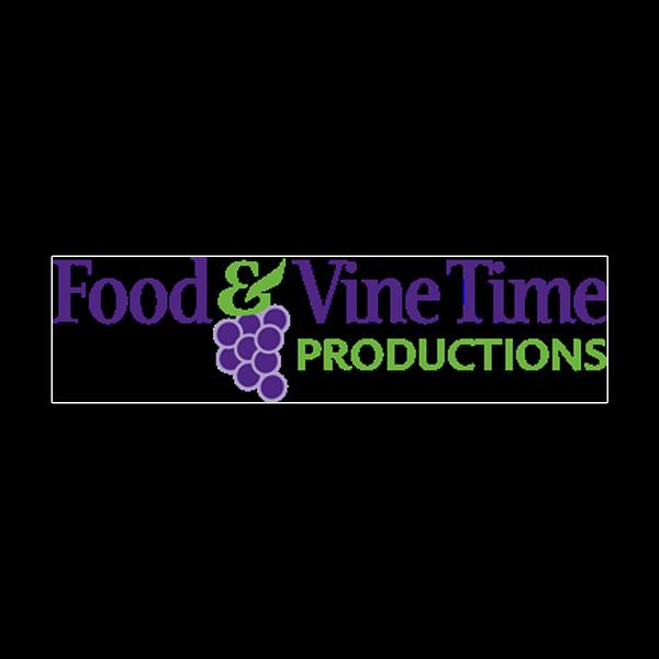 Food and Vine Time Logo Black