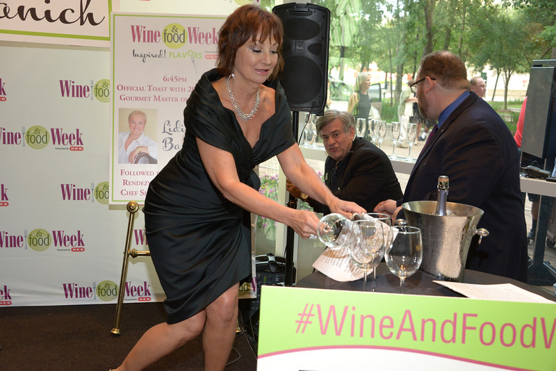Food and Vinetime Woodlands Wine Week 2017