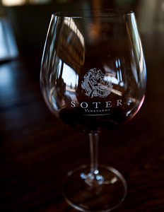 Soter winery tasting room in Willamette Valley, Oregon