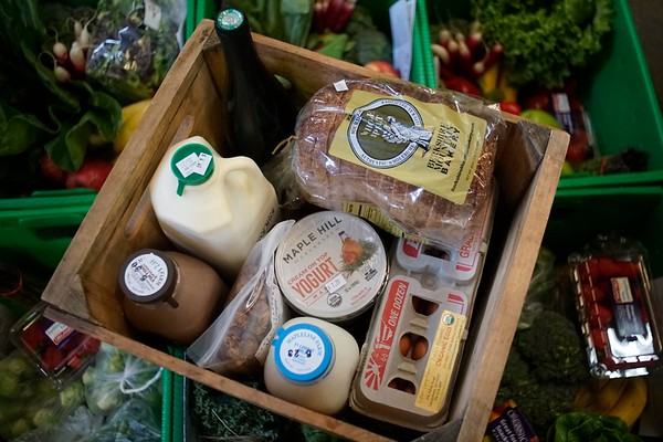Berkshire Organics custom groceries - 051817