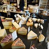 BEN GARVER — THE BERKSHIRE EAGLE<br /> An assortment of cheeses are on display at Rubiner's Cheesemongers in Great Barrington.