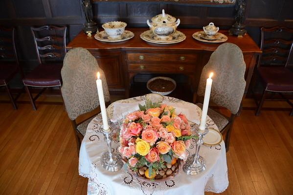 Table settings at Blantyre - 112116