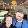 BEN GARVER — THE BERKSHIRE EAGLE<br /> Birdie and Nick Joseph are the owners of The Bistro Box in Great Barrington.