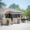 BEN GARVER — THE BERKSHIRE EAGLE<br /> A line outside the Bistro Box in Great Barrington is a common summer sight on Route 7. The roadside eatery offers fresh, high-quality meals by owners Birdie and Nick Joseph.