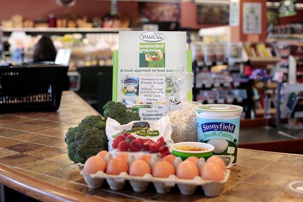 Wild Oats Market Suspended Groceries-060314