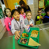 KRISTOPHER RADDER — BRATTLEBORO REFORMER<br /> Khando Wanvchuk, second-grader at Academy School, in Brattleboro, gets one of the special lunches on Tuesday, Jan. 7, 2020.